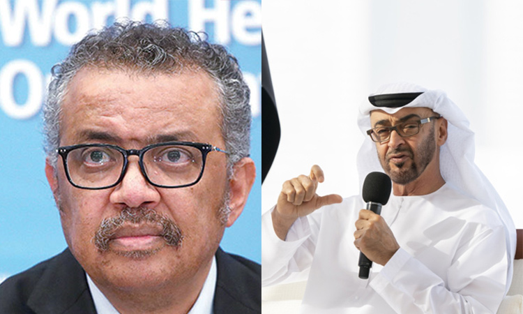 WHO Director-General expresses gratitude to Mohamed Bin Zayed's efforts to fight polio