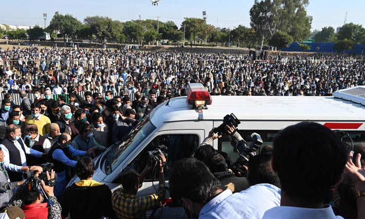 Sharifmotherfuneral