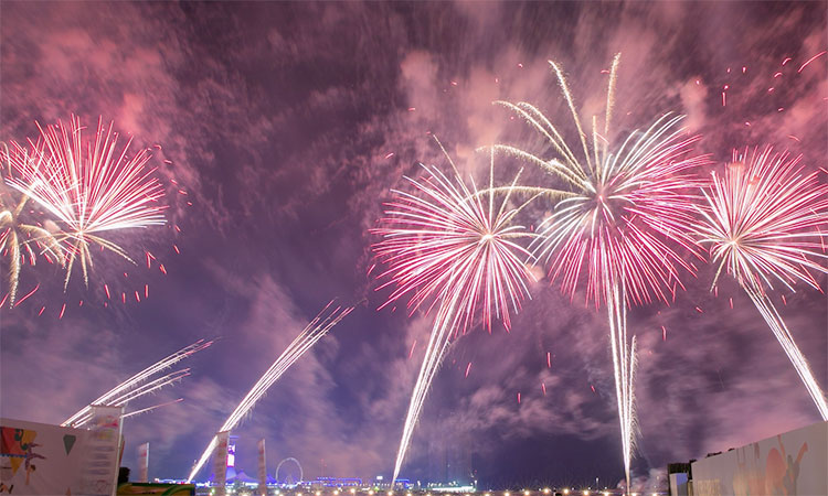 Abu Dhabi to host a record-breaking 35-minute-long fireworks show - GulfToday