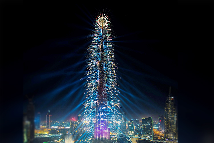 From Abu Dhabi to Ras Al Khaimah, places where you can see fireworks this New Year's Eve - GulfToday