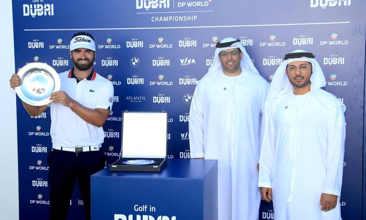 Rozner shoots 64, wins in Dubai for 1st European Tour title