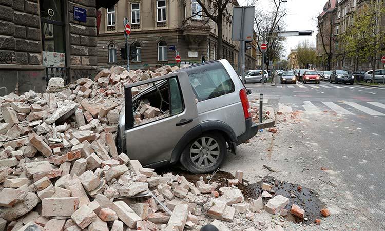 Teenager killed as strong earthquake shakes Croatia