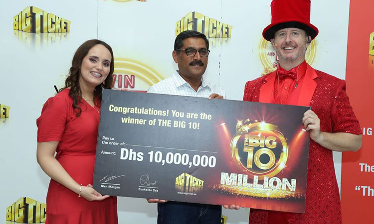 Indian wins Dhs10 million in Abu Dhabi's Big Ticket raffle - GulfToday