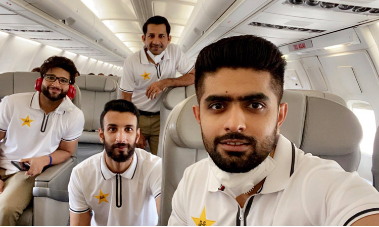 VIDEO: Virus-depleted Pakistan cricket squad leaves for England ...
