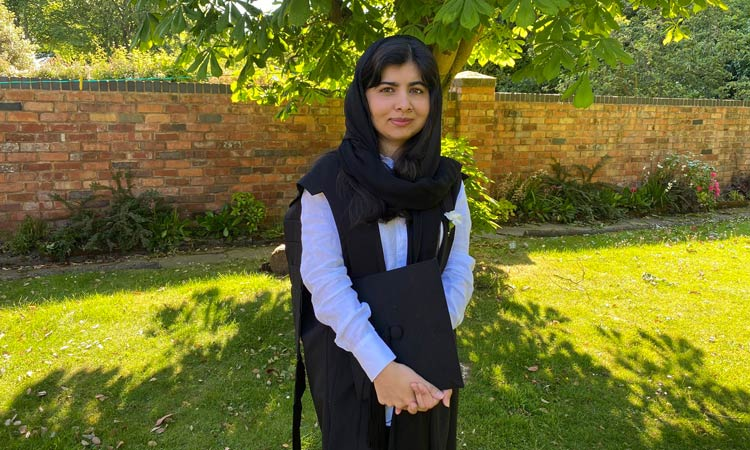 Human rights activist Malala completes degree at Oxford