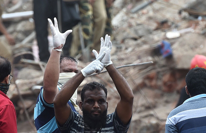 Indian building collapse 1