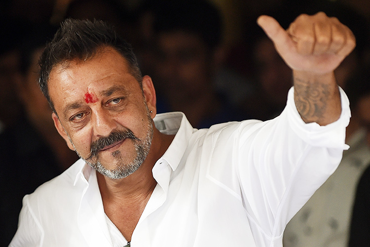 Bollywood actor Sanjay Dutt hospitalised, tweets to say he ...