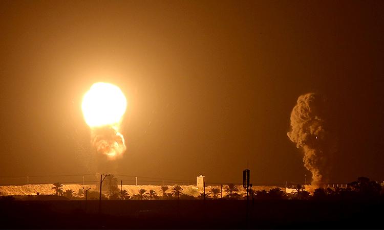 Israeli jets bomb Gaza after rocket fire - GulfToday