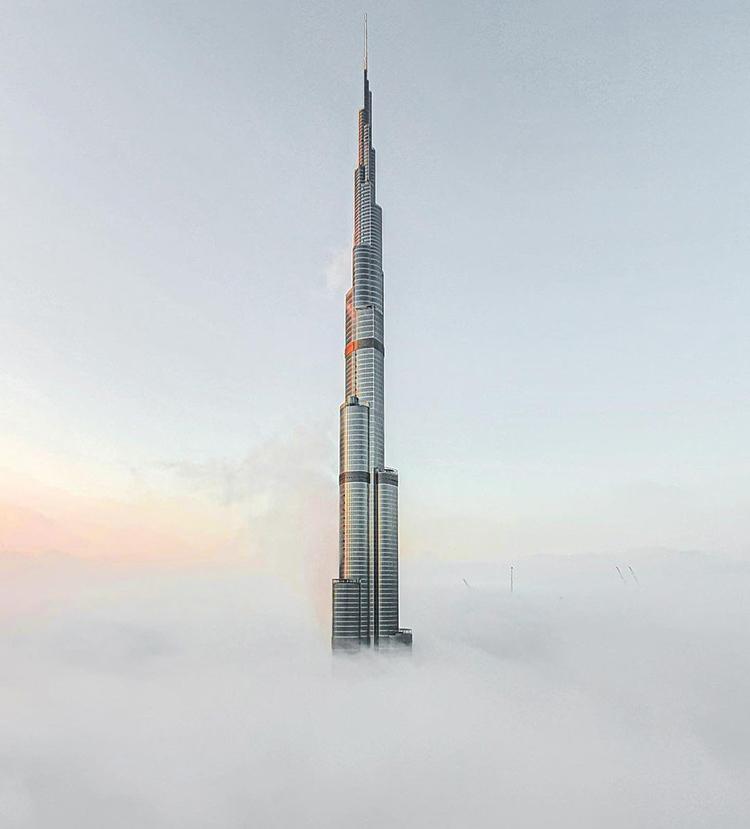برج خليفة ميست 750