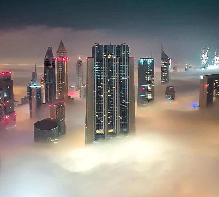 دبي الضباب 1