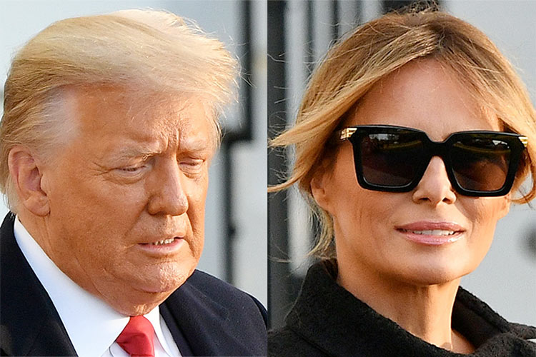 Melania, as First Lady, tried her best to stand by Trump