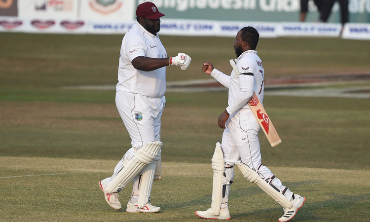 Majestic Kyle Mayers leads West Indies to shock win over Bangladesh in  first Test