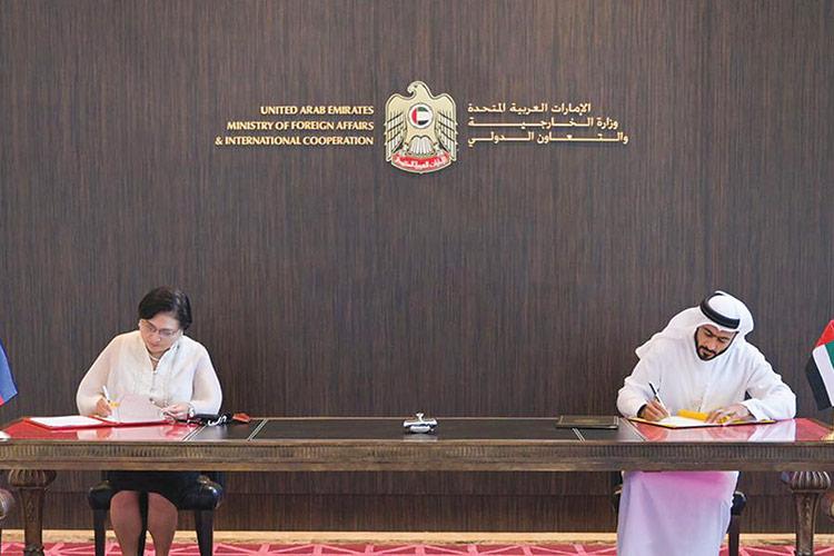 UAE, Philippines beef up relations