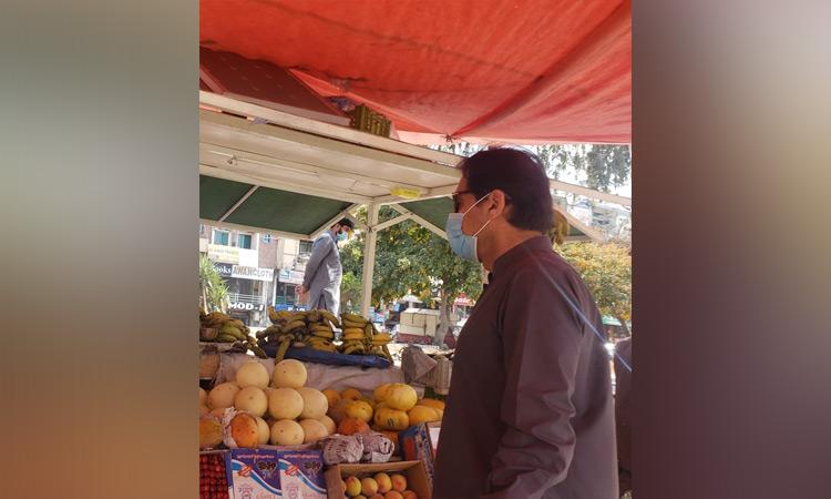 Imran-Marketvisit
