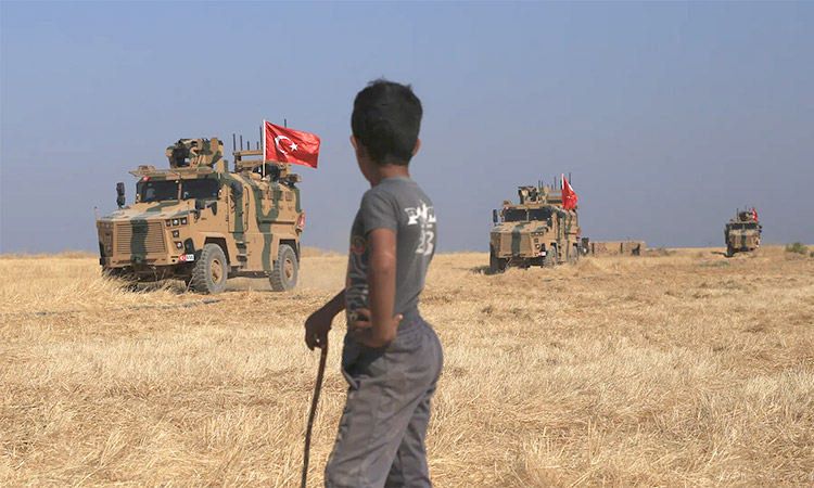 Turkish forces in Syria