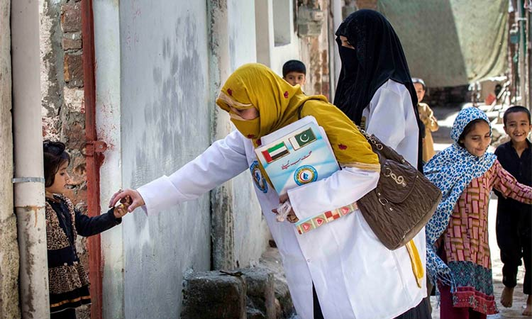 UAE a leader in fight against polio