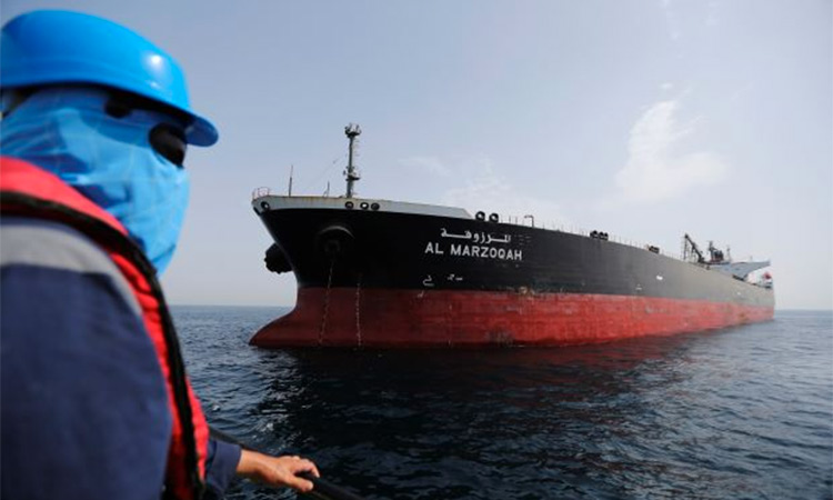 Oil tankers attacked