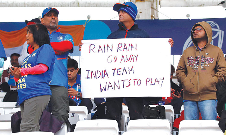 India match rained out