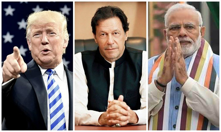 Trump, Imran and Modi
