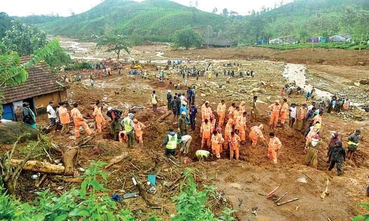 Image result for kerala flood 2019