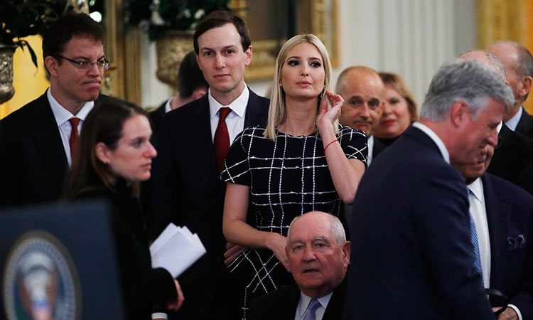 The unlikely rise of the Trumps and Kushners
