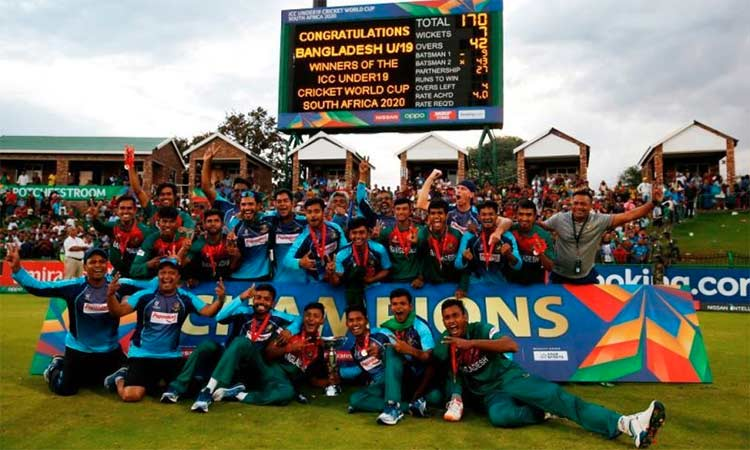 Bangladesh win Under-19 cricket World Cup