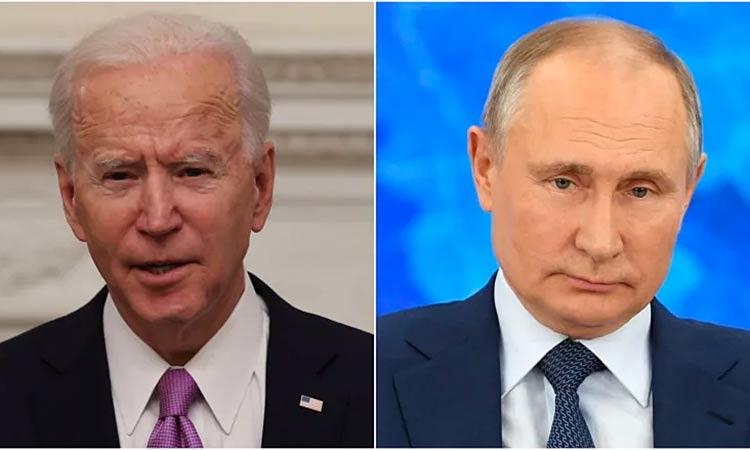Biden says Putins naked self-interest led to deal on