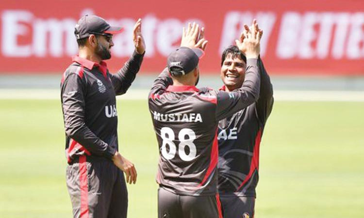 Usman and Ahmed excel as UAE beat PNG in warm-up match