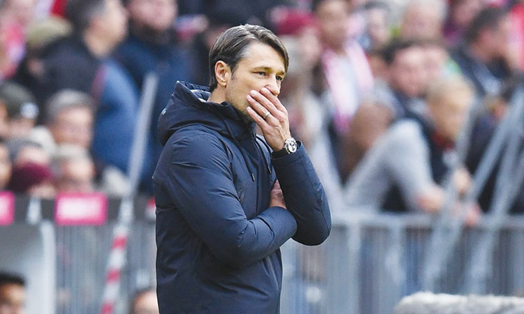 Kovac wants Bayern to dig  in after Hoffenheim slip-up