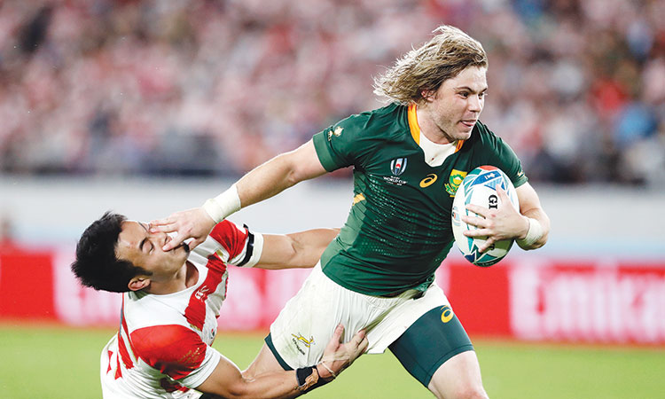 South Africa end Japan's fairytale run to set up semi-final clash against Wales