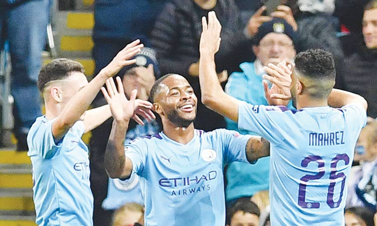 Sterling, Mbappe net hat-tricks  to hand City  and PSG wins;  Spurs triumph