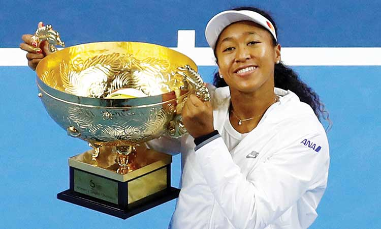 Osaka clinches China Open with Barty romp as Djokovic claims Japan Open title