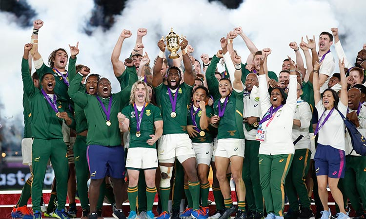 South Africa dominate ragged England to win Rugby World Cup for third time  - GulfToday