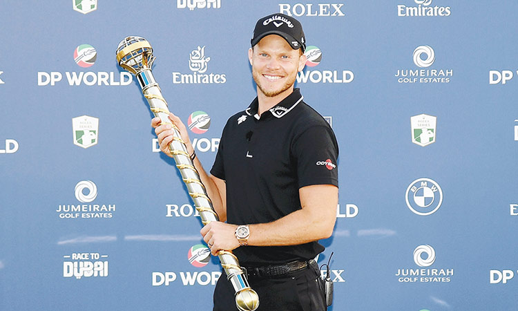 Willett relishes challenge to defend DP  World Tour C'ship crown