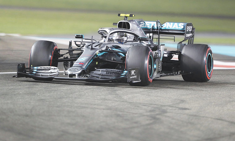Bottas leads Mercedes one-two in Abu Dhabi Grand Prix practice