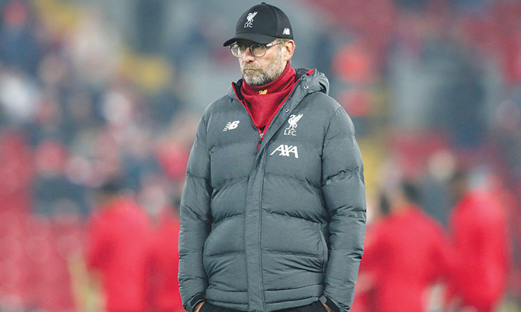 Liverpool's coach Klopp in dilemma to approach two matches in 24 hours