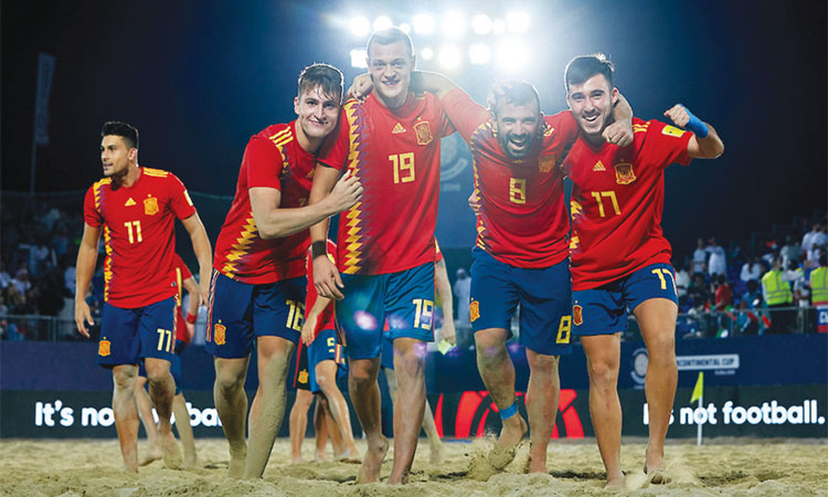 Spain-Soccer-Players