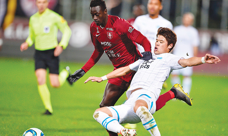Metz hold Marseille; Nantes climb to fourth spot with win over Nimes