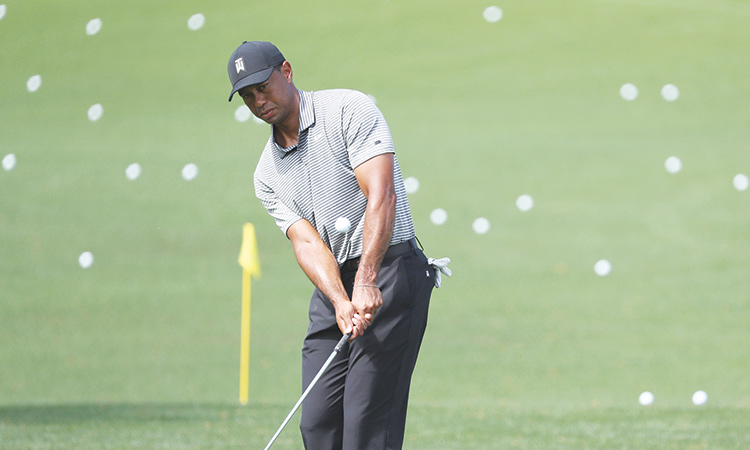 tiger confident as he chases 15th major win at masters