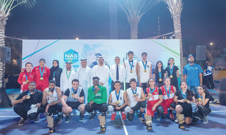 The Big 3, Sharjah Women A win NAS Basketball titles - GulfToday