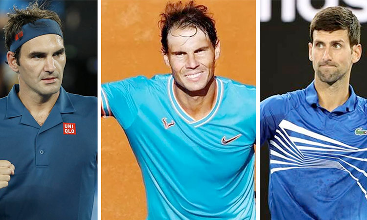 Federer-and-nadal-and-Djokovic