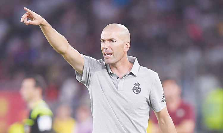 Judgement day for Real as   Zidane's 2nd  coming begins  in new season