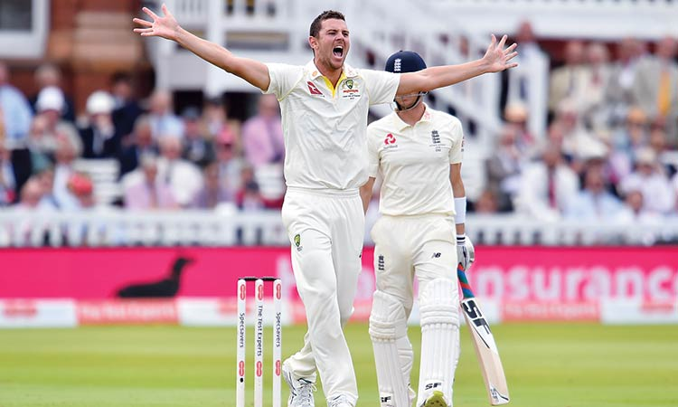 Hazlewood leads Aussie charge as England wilt