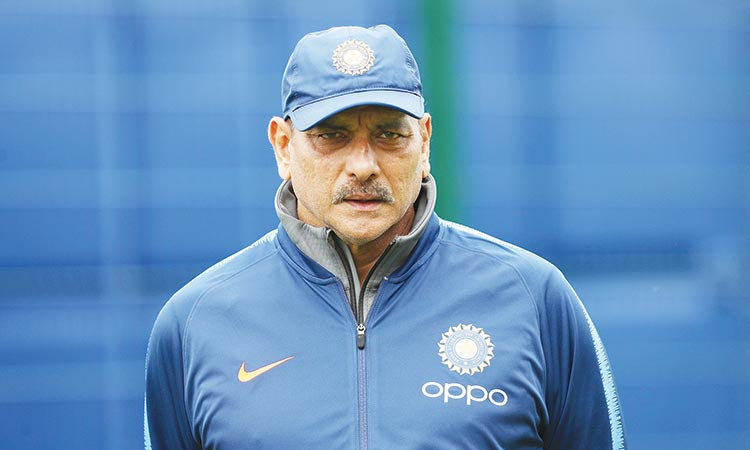 Shastri reappointed India head coach   until 2021 Twenty20 World Cup