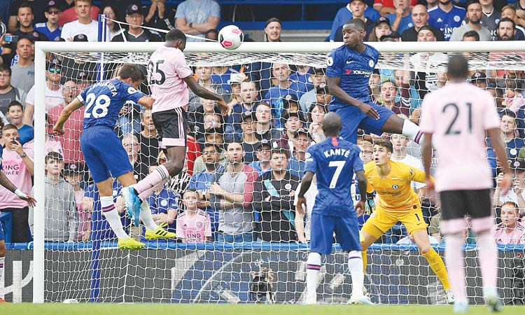 Leicester spoil Chelsea legend Lampard homecoming with 1-1 stalemate