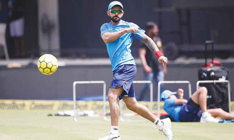 India gear up for World T20 with  three-match series against West Indies