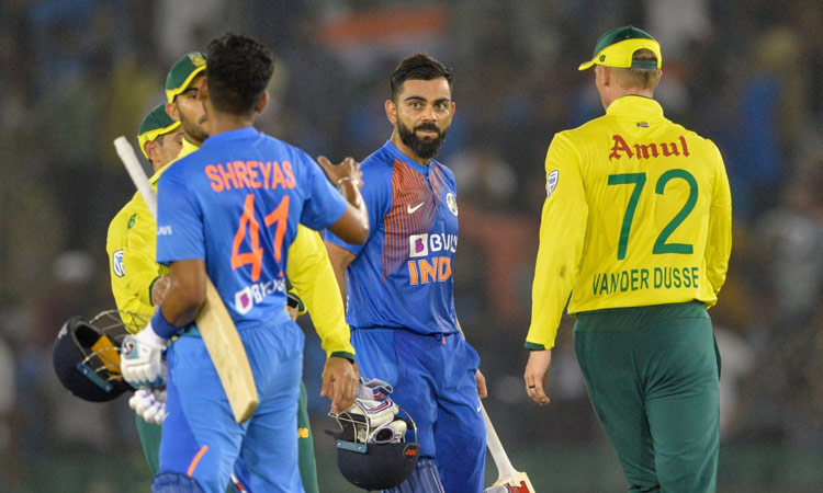 Kohli Bowlers Star In India S T20 Win Over South Africa