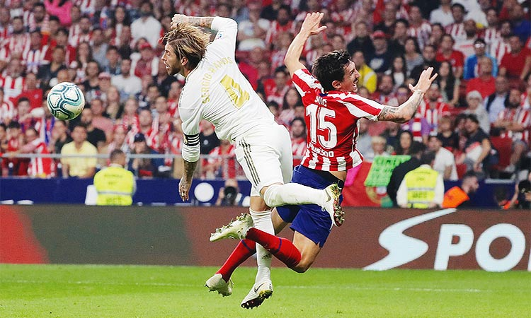 Real Hold Off Atletico In Tight Derby Gulftoday