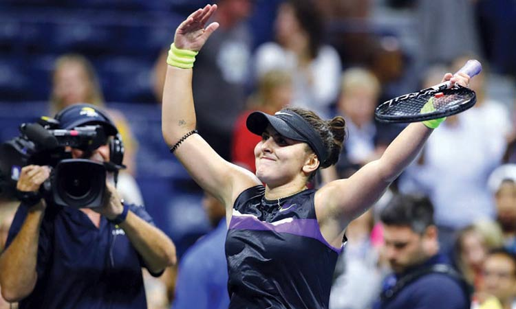 Record-chasing Serena awaits half-her-age Andreescu in final