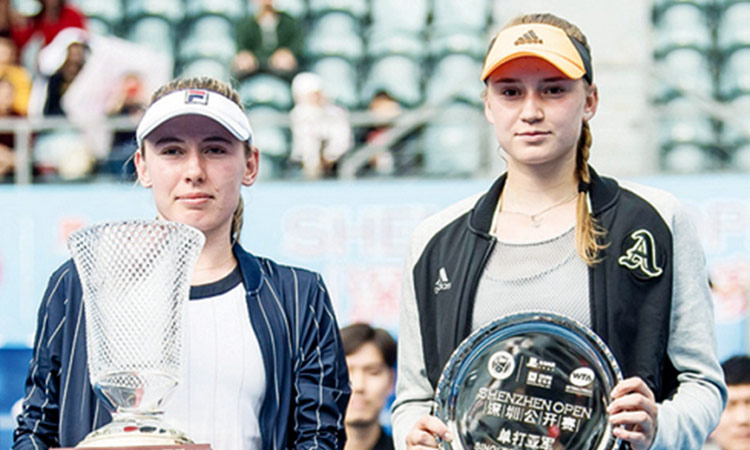 Alexandrova captures first WTA Tour title